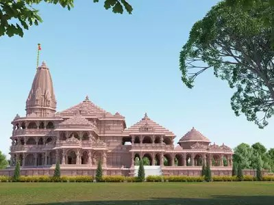 According to the architect project, it will take three to three and a half years to get the temple ready.  The temple will be three storeyed and will be built according to Vastu Shastra.