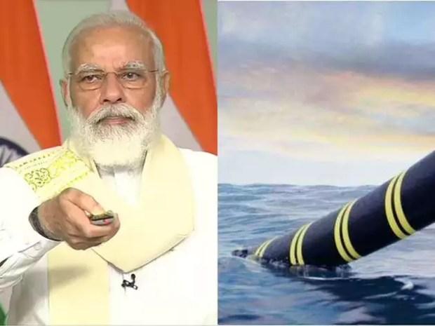 अंडमान-चेन्नई OFC का पीएम मोदी ने किया उद्घाटन, समुद्र के नीचे ऐसे बिछाई जाती है केबल
