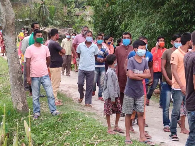 BJP workers reach Assam from Bengal