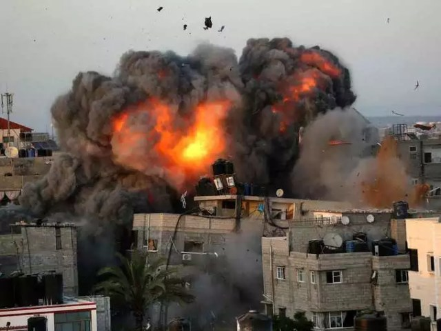 Israeli forces attack