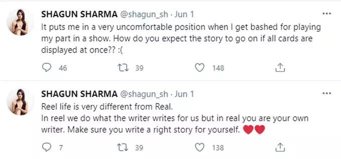 shagun sharma tweet