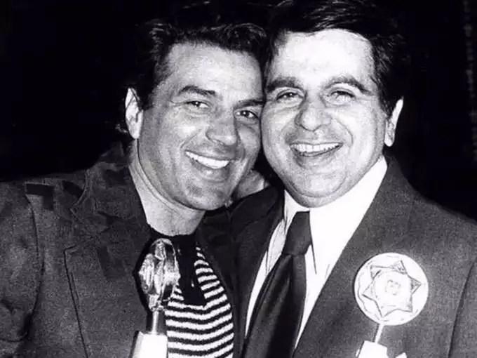 Dilip Kumar and dharmendra