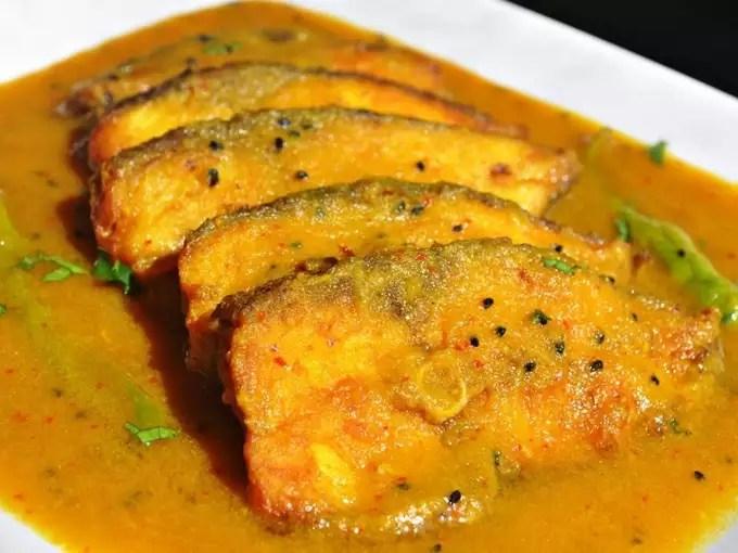 Macher Jhol dish from Kolkata
