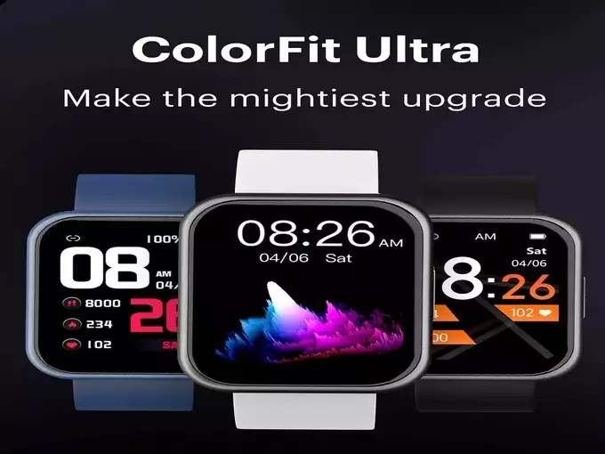 Noise ColorFit Ultra Smartwatch Launch Price Specs India