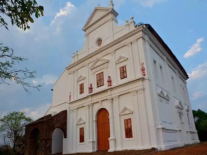 Information about the churches of Goa