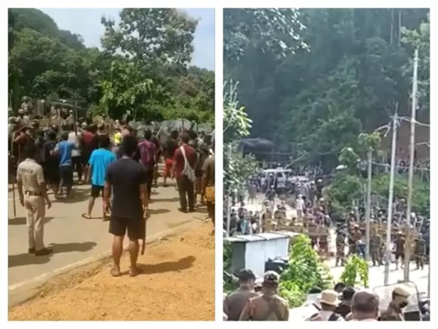 Assam mizoram dispute: Firing on Assam-Mizoram border increased tension, CMs of both the states accuse each other