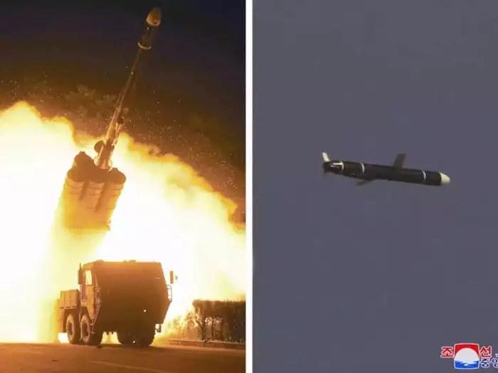 North Korea long range cruise missile