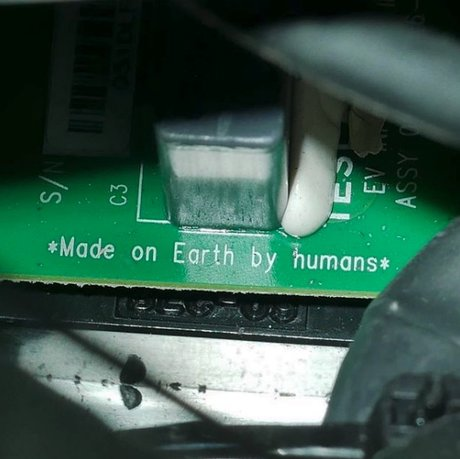 made on earth by human