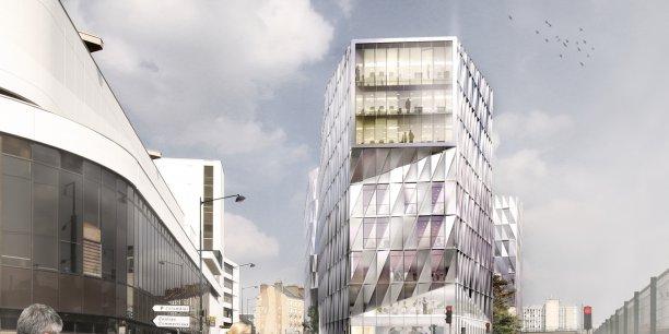 Quartier d'affaires, EuroRennes prévoit ainsi 1430 nouveaux logements pour 3 000 habitants,  30 000m2 de commerces et services, et 125 000m2 de bureaux.
