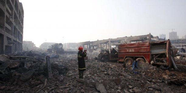 """""""Chaque blessé couvert par le plan gouvernemental peut réclamer une compensation comprise entre 20.000 et 35.000 yuans (entre 2.800 et 4.900 euros environ) tandis qu'une compensation de 50.000 yuans (7.000 euros) sera versée en cas de décès"""" précise l'agence de notation"""