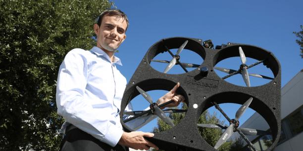 Matthieu Claybrough, cofondateur de Donecle. (Crédits : Rémi Benoît)