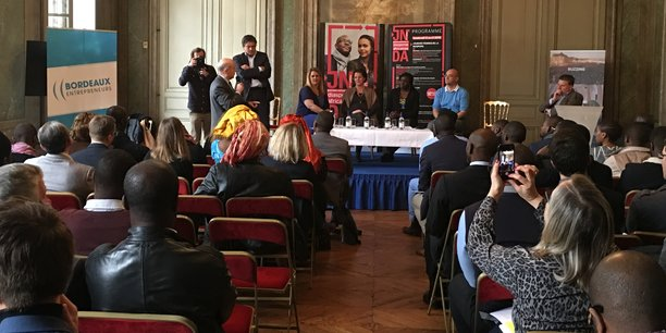 Les Rencontres des entrepreneurs du numérique Afrique France sont organisées par la mairie de Bordeaux et l'association Bordeaux Entrepreneurs.