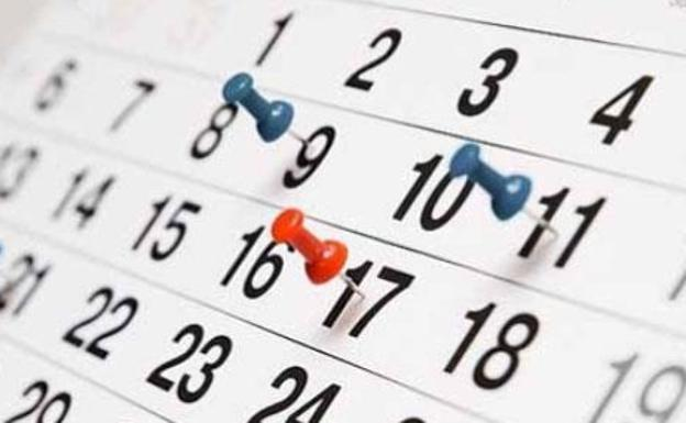 Resultado de imagen para calendario