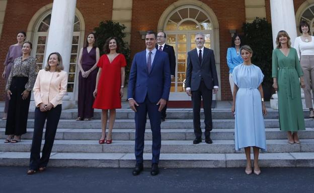 First meeting of the Council of Ministers of the new Pedro Sánchez cabinet
