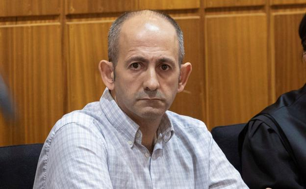 Juan Álvarez, during the trial in which he was found guilty.