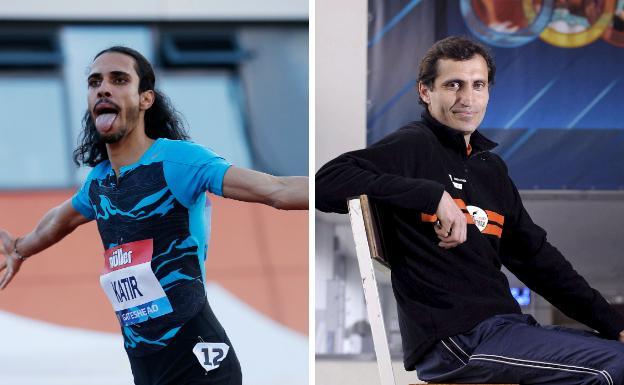 Mohamed Katir and Isaac Viciosa.