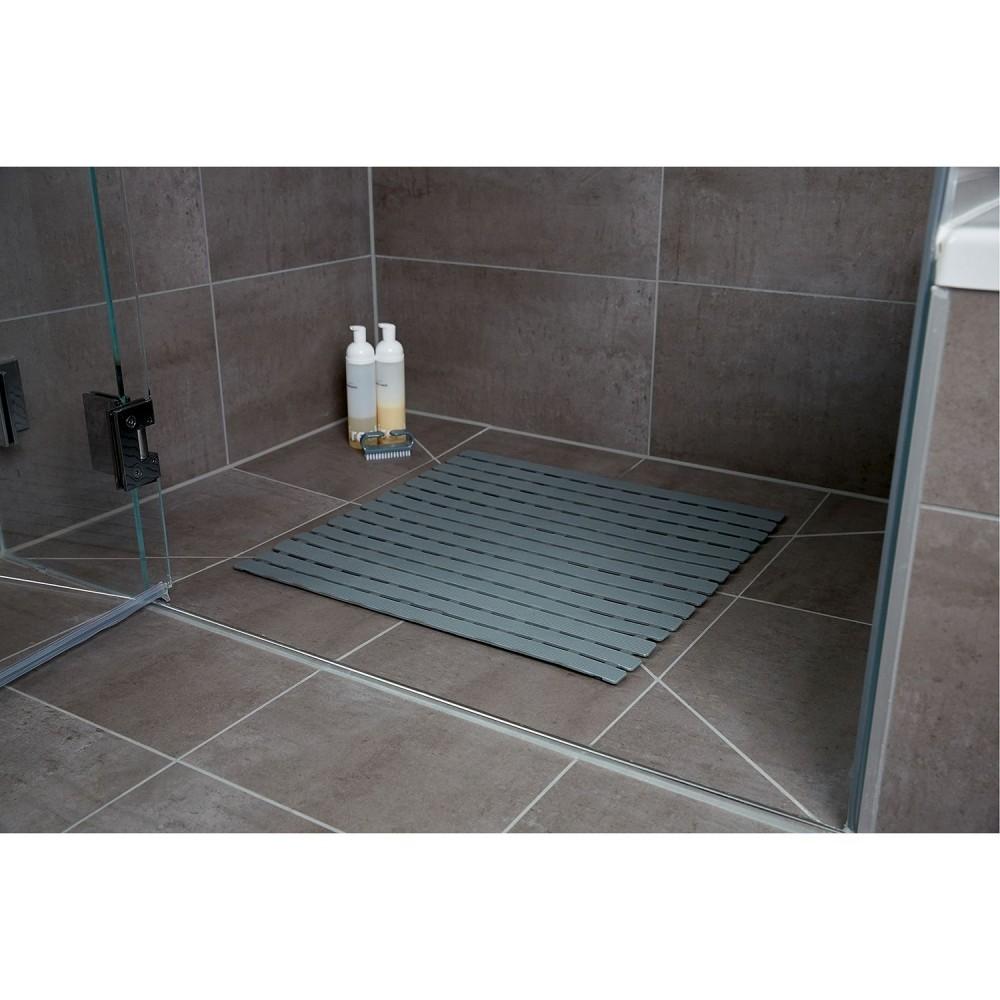 tapis de douche antiderapant arinos plastique 54 x 54 cm