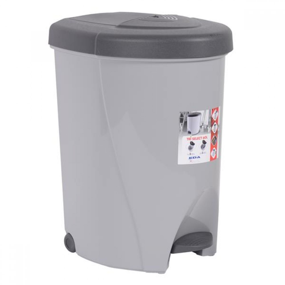 poubelle de cuisine tri select 60