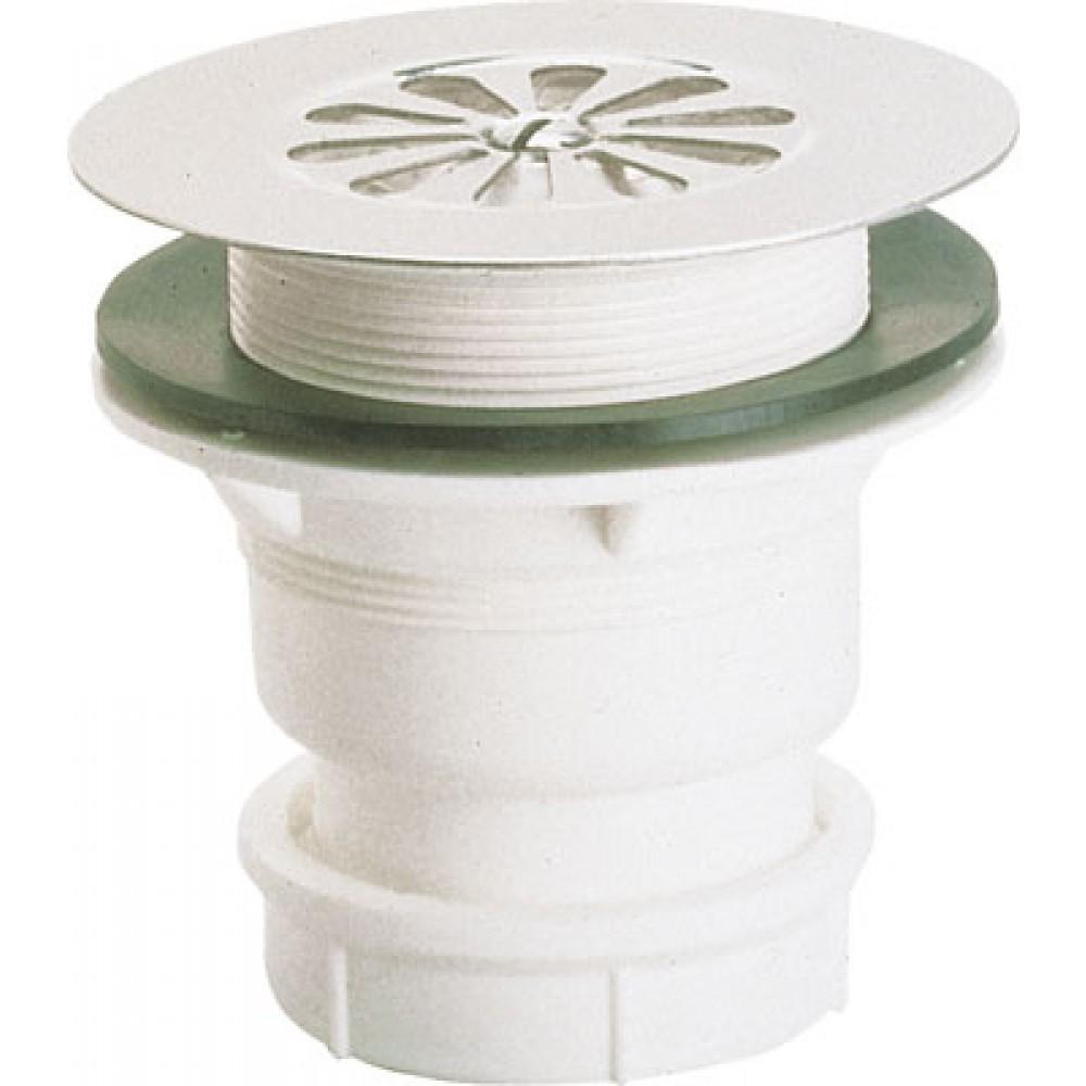 bonde de douche a grille inox 60 mm sortie verticale