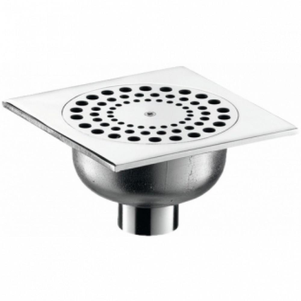 siphon de sol avec grille inviolable