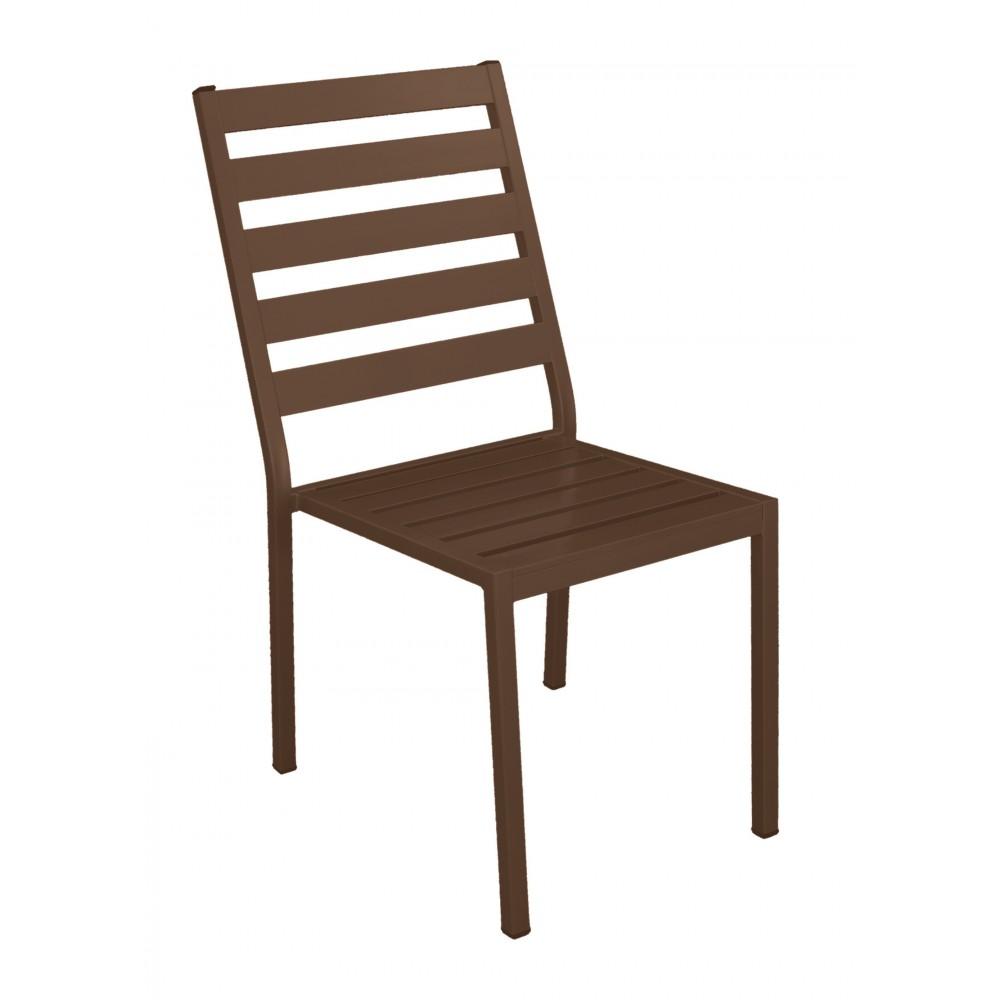 lot de 2 chaises de jardin aluminium coussin ecru angussa indoor outdoor sur bricozor