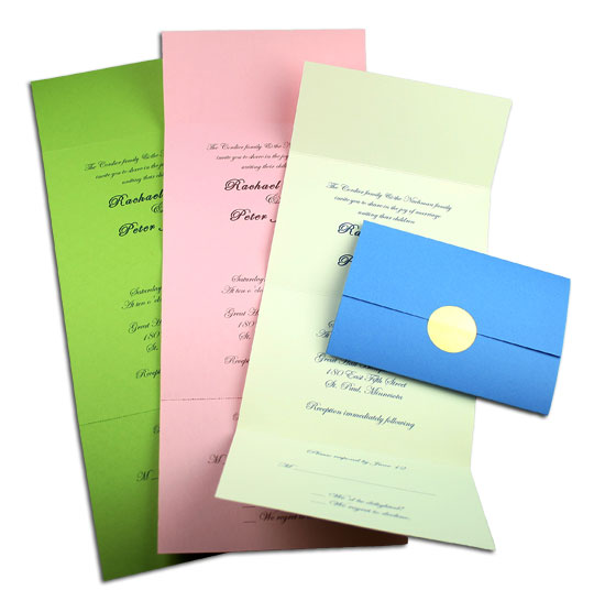Seal And Send All In One Invitations