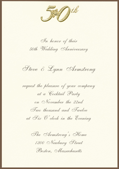Adorable Surprise Enement Party Invitaations Invitation Card Design 50th Wedding Anniversary