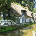 Veules les Roses, circuit du plus petit fleuve de France