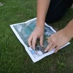 Découverte sportive 2013 : course d'orientation