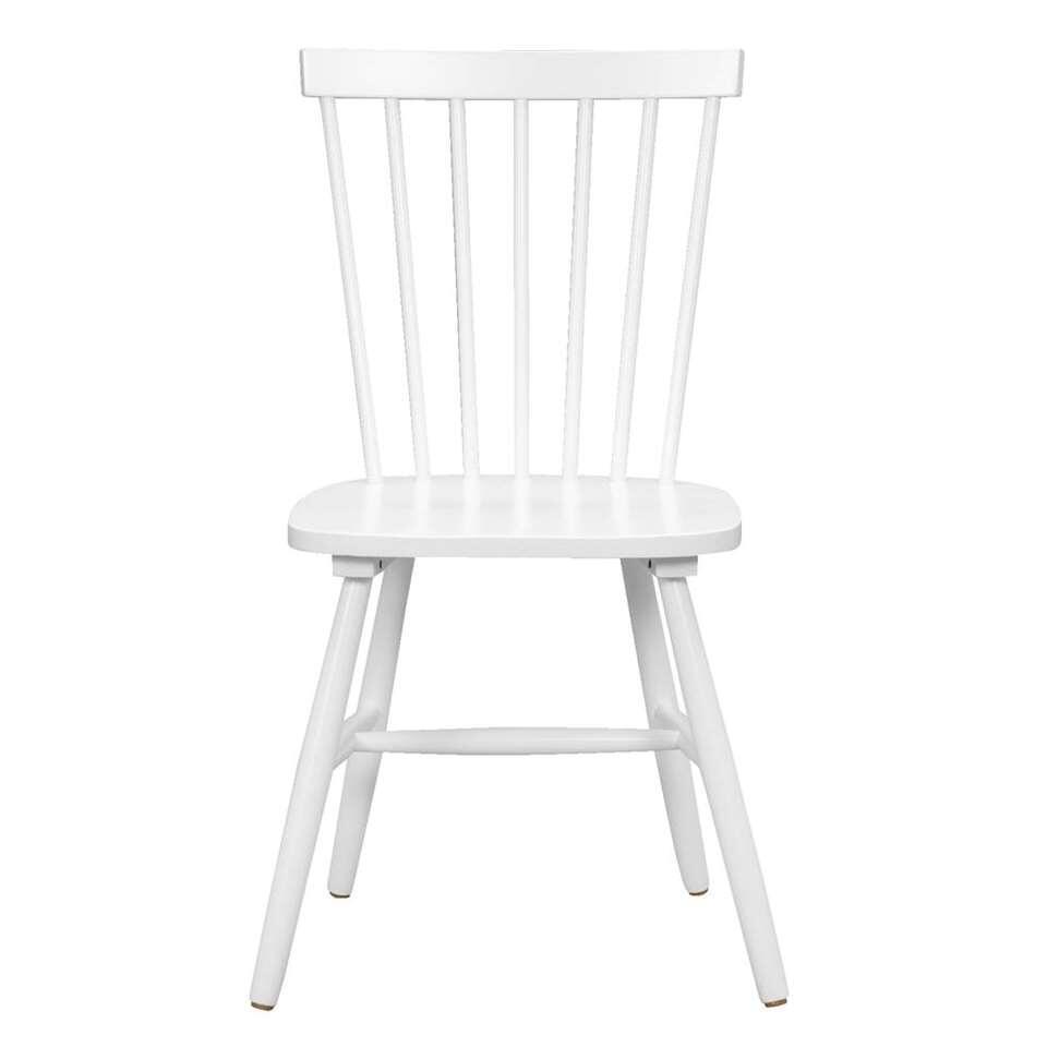 chaise de salle a manger skeby bois blanche 2 pieces