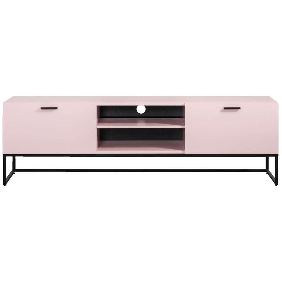 meuble tv kioto rose 58x176x43 cm