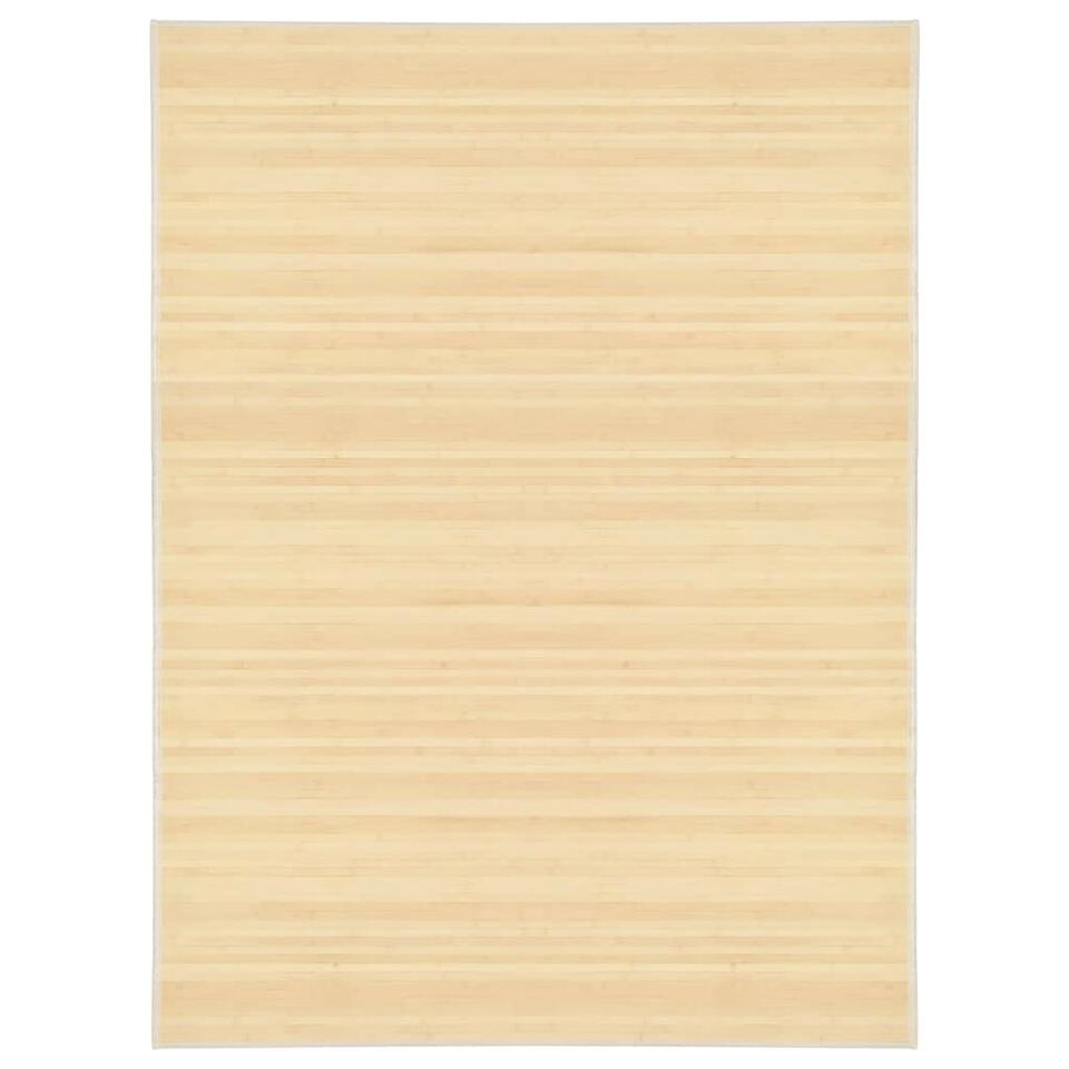 vidaxl tapis bambou 150 x 200 cm naturel