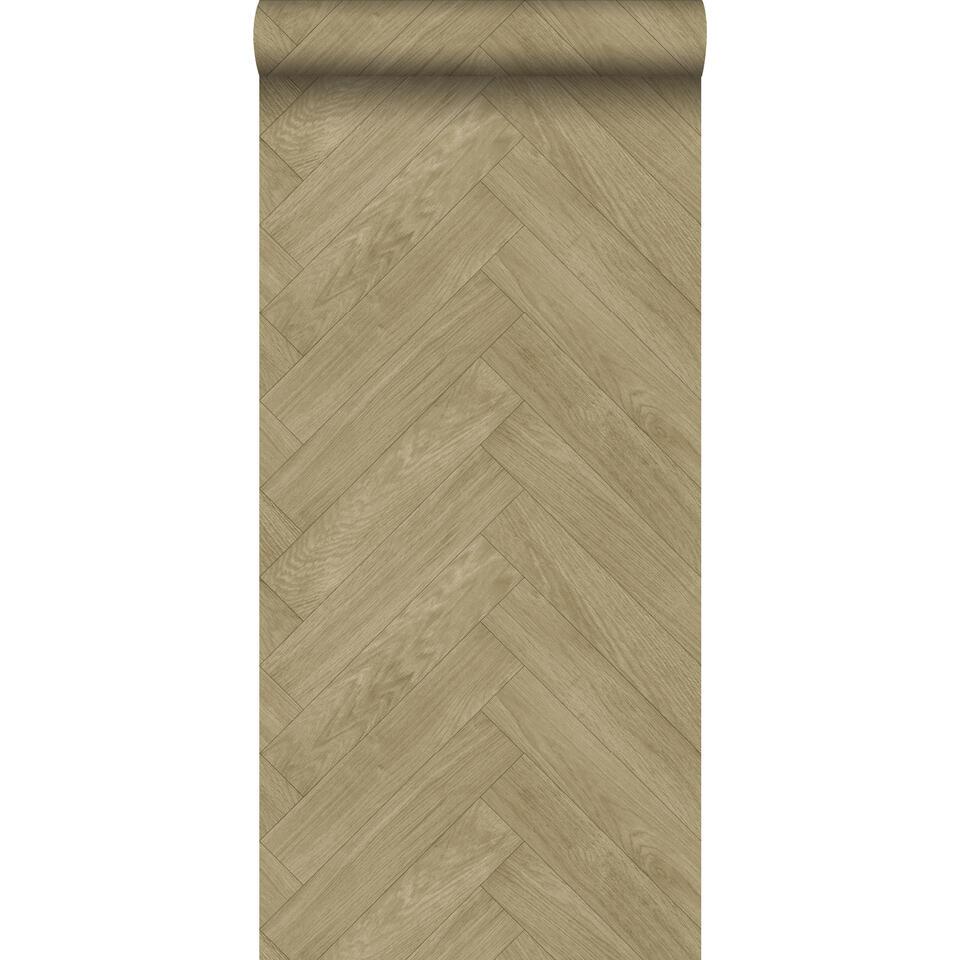 estahome papier peint imitation bois cervine 0 53 x 10 05 m