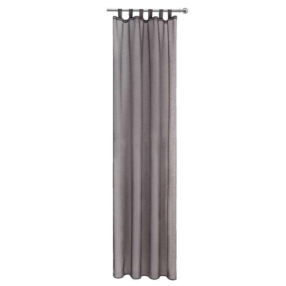 rideau toledo gris anthracite 280x135 cm 1 piece