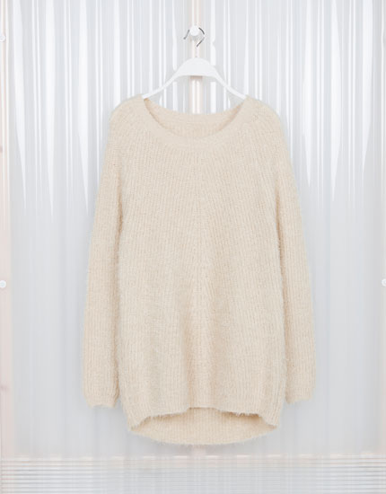 Lefties - fluffy rib knit sweater - 0-710 - 05622364-I2014