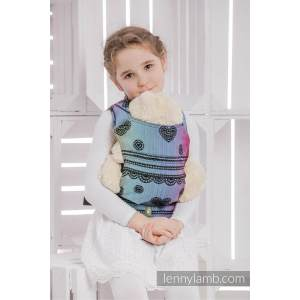 804df0ee0cc Superb Woven Fabric Rainbow Lace Baby Doll Carrier Tutorial Baby Doll  Carrier Free Pattern Doll Carrier