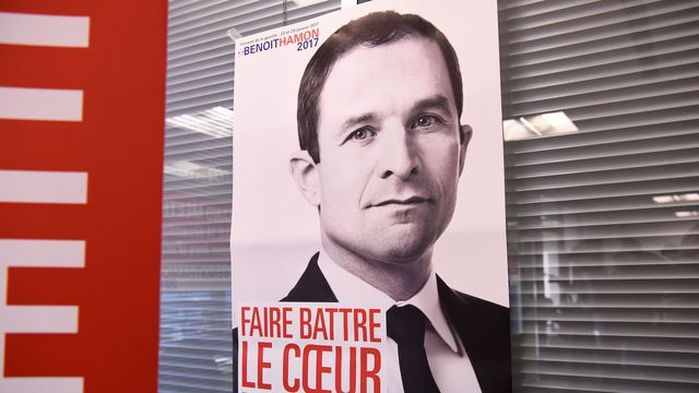 Image result for benoit hamon affiche