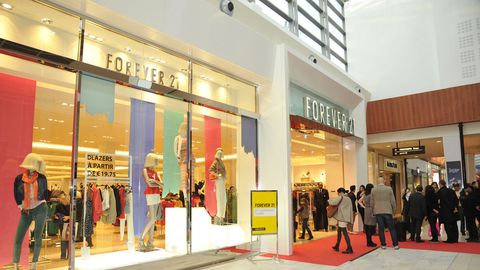 forever 21 a ouvert ses portes a velizy