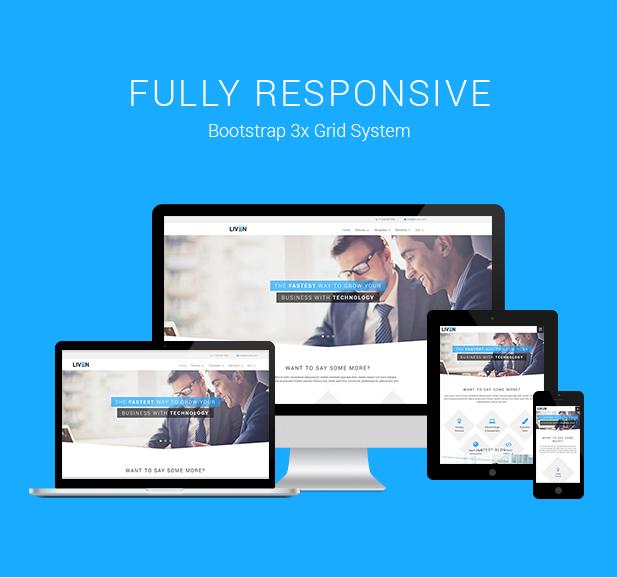 Liven - Modern Corporate - Business & Portfolio Theme for WordPress - 2