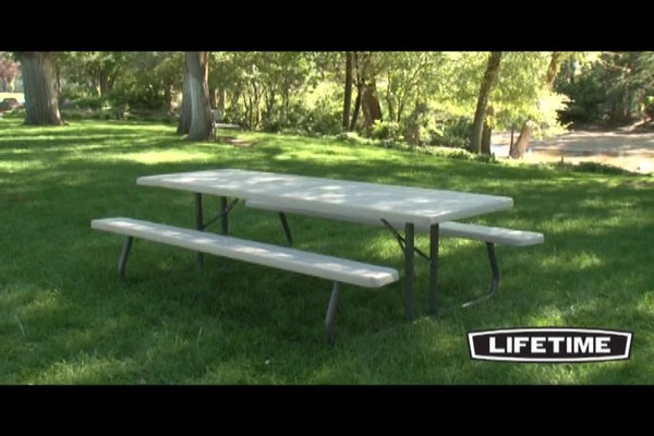 Lifetime 8 Folding Picnic Table 187 Welcome To Costco Wholesale