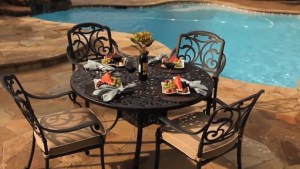 San Paulo 5 Piece Patio Dining Set Welcome To Costco