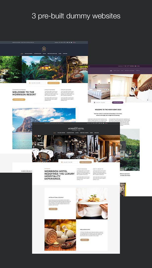 Morrison Hotel Dummy Websites