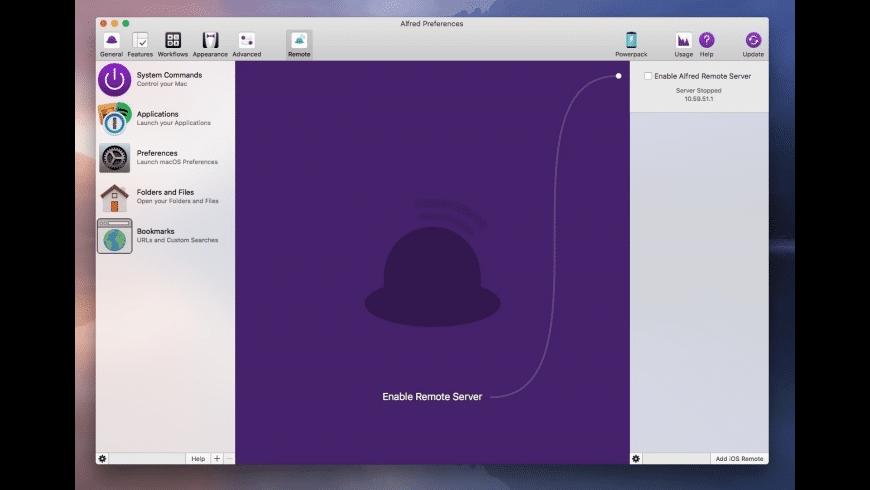 Alfred 4.5.1246 Mac 破解版 最优秀的快速启动工具