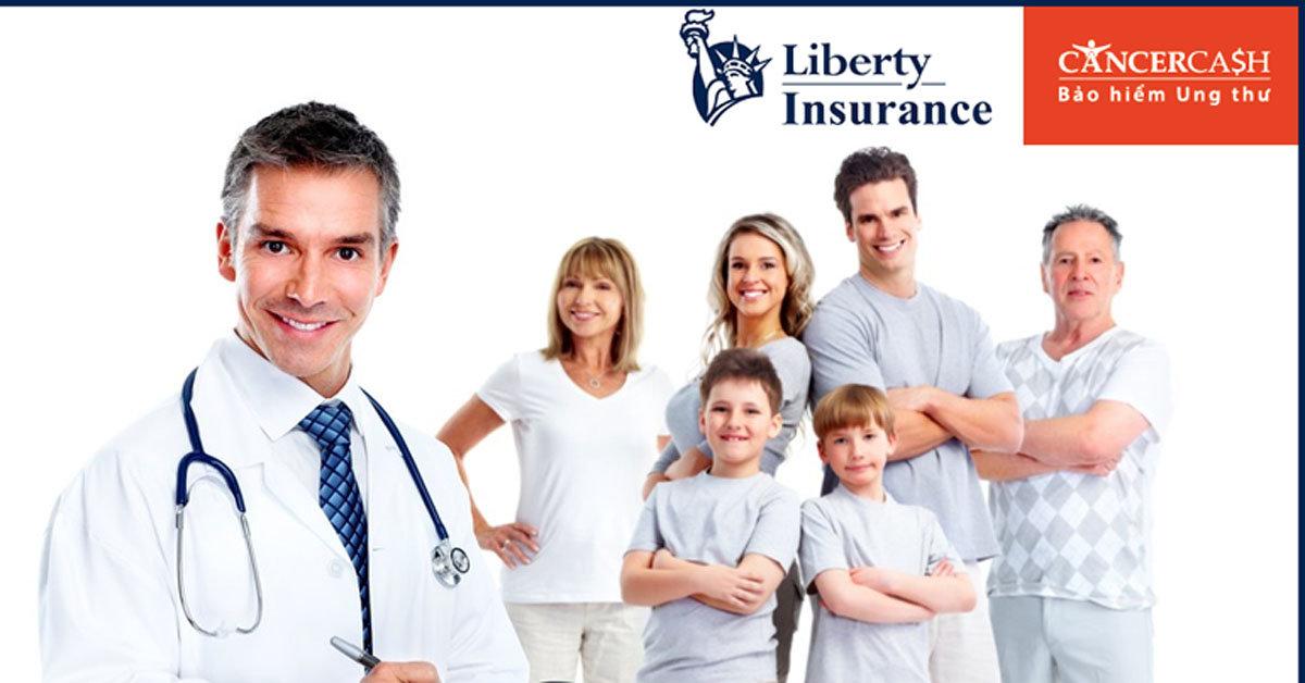 Bảo hiểm ung thư Liberty Cancer Cash chi trả 100% hạng mức bảo hiểm không tùy từng quá trình ung thư, được nhiều người tiêu dùng lựa chọn