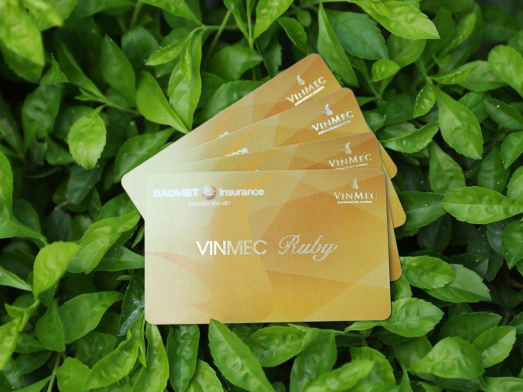Thẻ bảo hiểm Vinmec Ruby được nhiều tình nhân thích lựa chọn