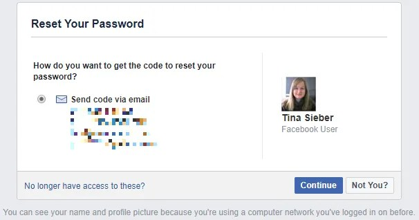 How to Recover Your Facebook Account When You Can No Longer Log In Facebook Reset Password