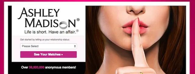 Взлом сайта знакомств Эшли Мэдисон
