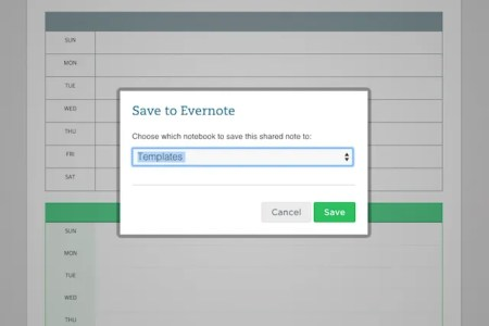 How 6 Simple Evernote Templates Boost My Daily Productivity EvernoteCalendar