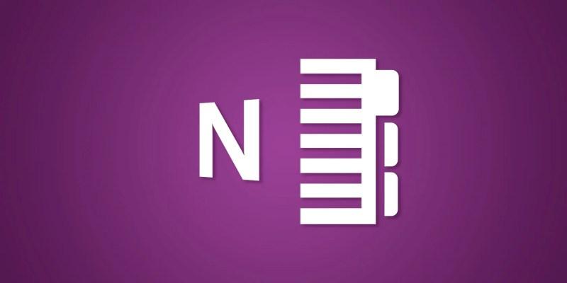 características de onenote