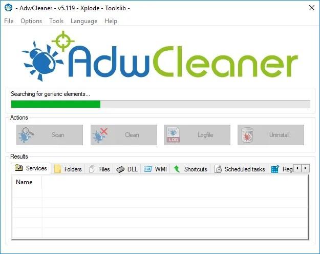finestre-diagnostico-adwcleaner